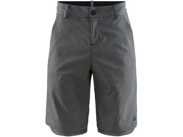 Craft Ride Habit Short Homme, dark grey melange